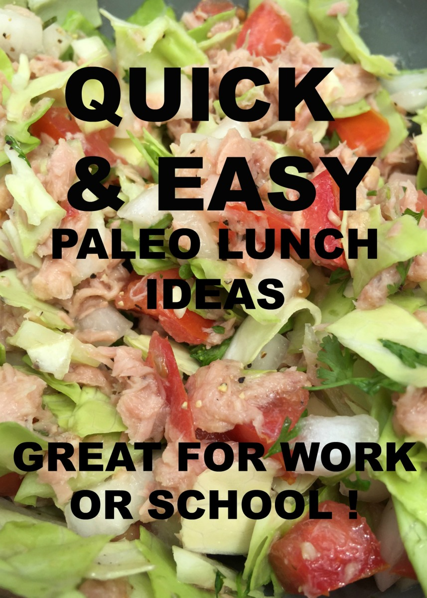 quick and easy paleo lunch ideas | thegreeneyedbride